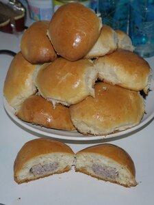 Тесто дрожжевое для пирожков (замес в хлебопечке)