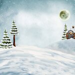 Scrap kit Painted Christmas