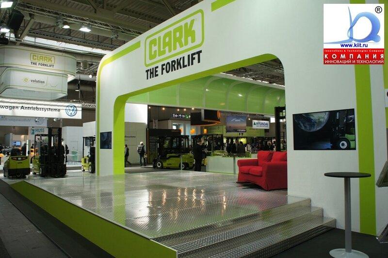 CLARK на выставке Семат 2011