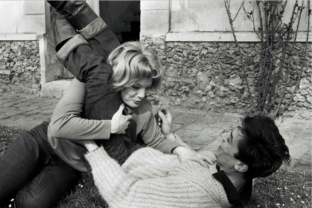 1959. С Роми