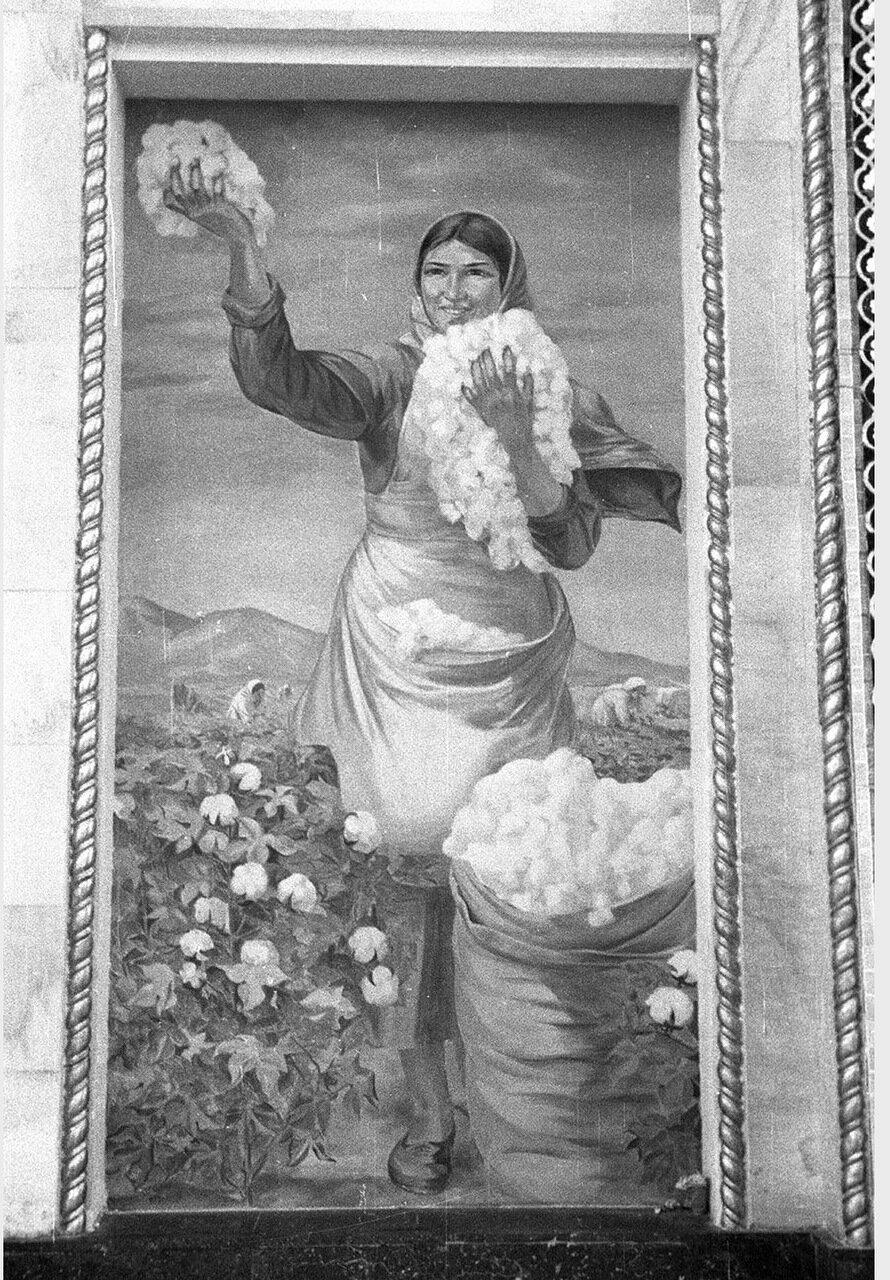 15. Павильон Азербайджанской ССР. Картина