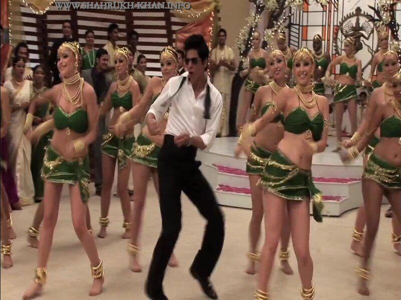 Shah Rukh Khan - Chammak Challo song sets (RAONE movie)