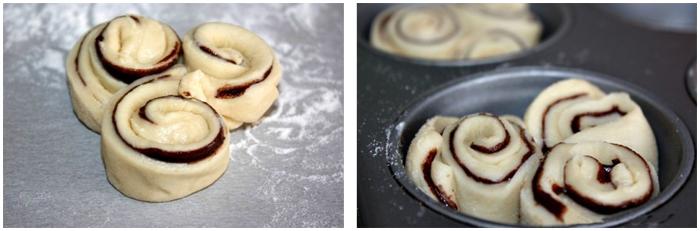 шоколадные булочки фото рецепт