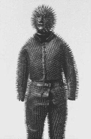 Siberian bear-hunting armor