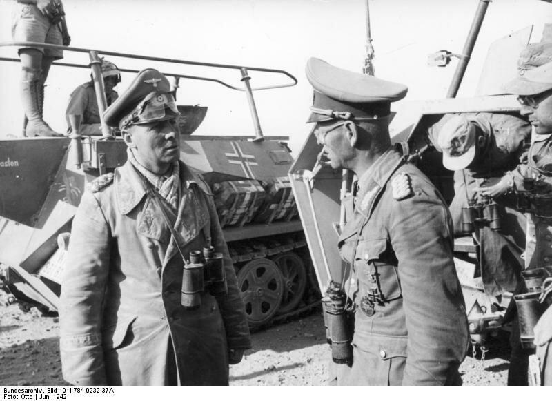 Nordafrika, Erwin Rommel, Georg v. Bismarck