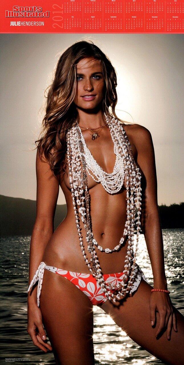 Sports Illustrated Swimsuit Edition 2012 calendar - Julie Henderson / Джули Хендерсон - кликабельно, 5 мегапикселей