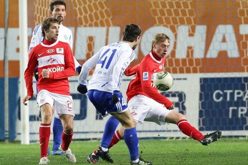 Динамо - Спартак 1:1 05-11-2011