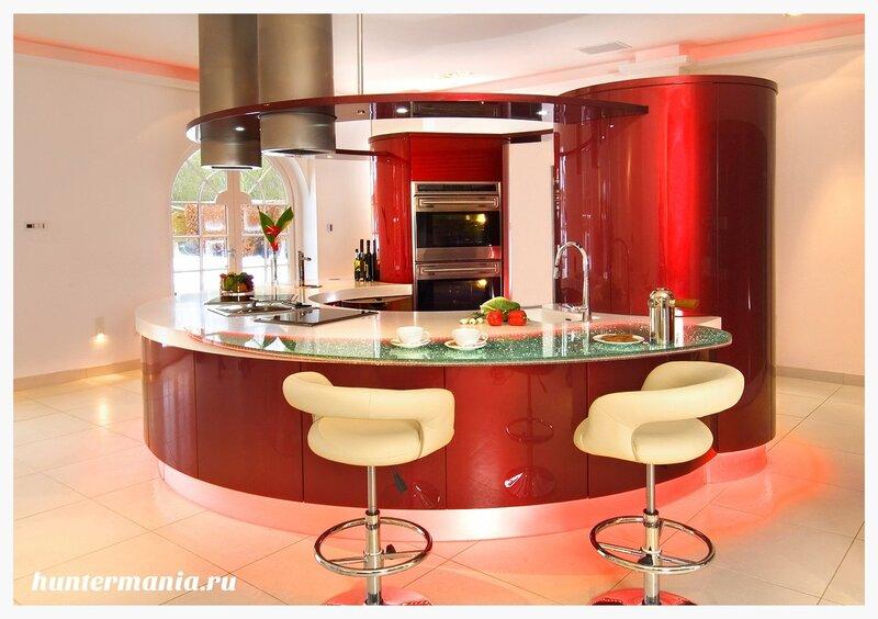 Самая дорогая кухня в мире, шикарная мебель, чистое золото и кожа крокодила