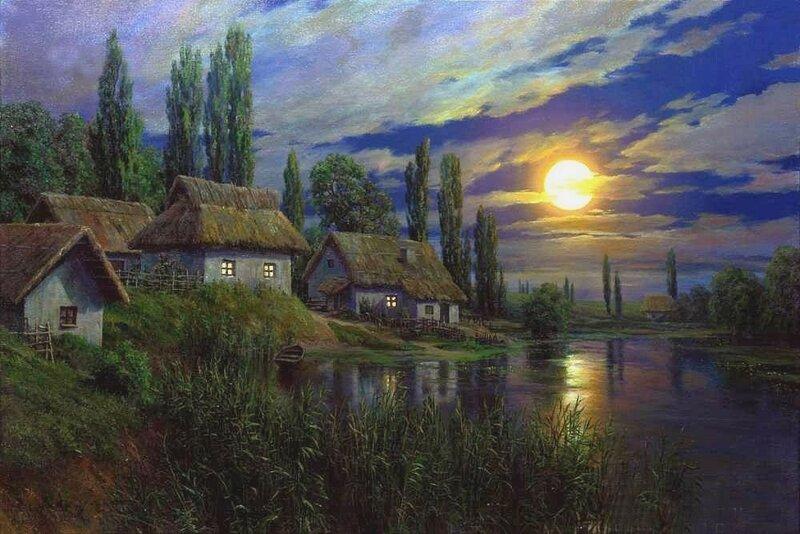 Андрей Огурцов. Полнолуние на Украине.jpg
