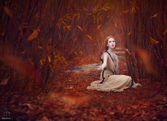 Прекрасные фэнтези-миры в работах фотографа Джессики Дроссин