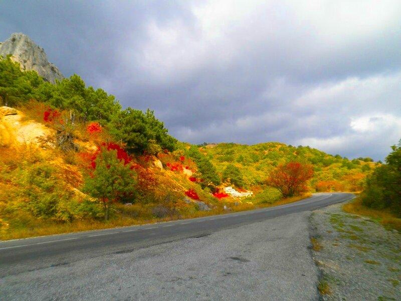 Картинки на тему осенняя дорога