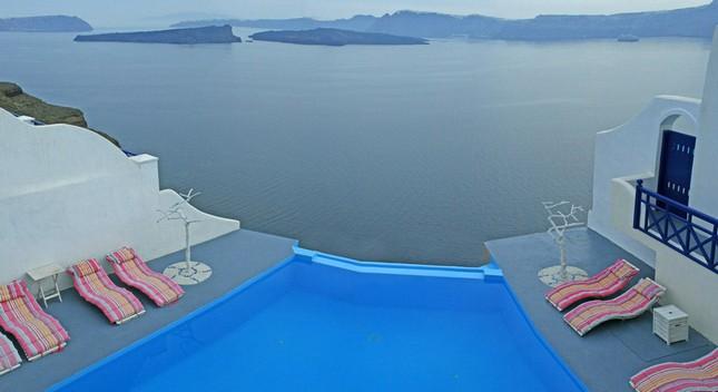 Идеальное место для молодоженов в Греции