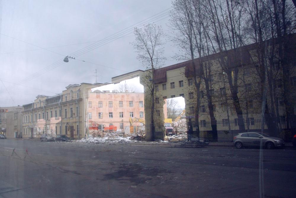 снос зданий петербург, снос исторических зданий, снос зданий и сооружений, здания под снос, работы по сносу зданий