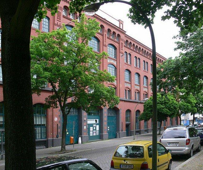 Бывшая фабрика AEG в Берлине