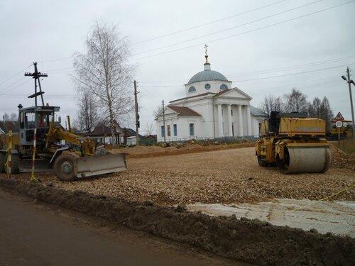 Капитальный ремонт автодороги Спортивной улицы
