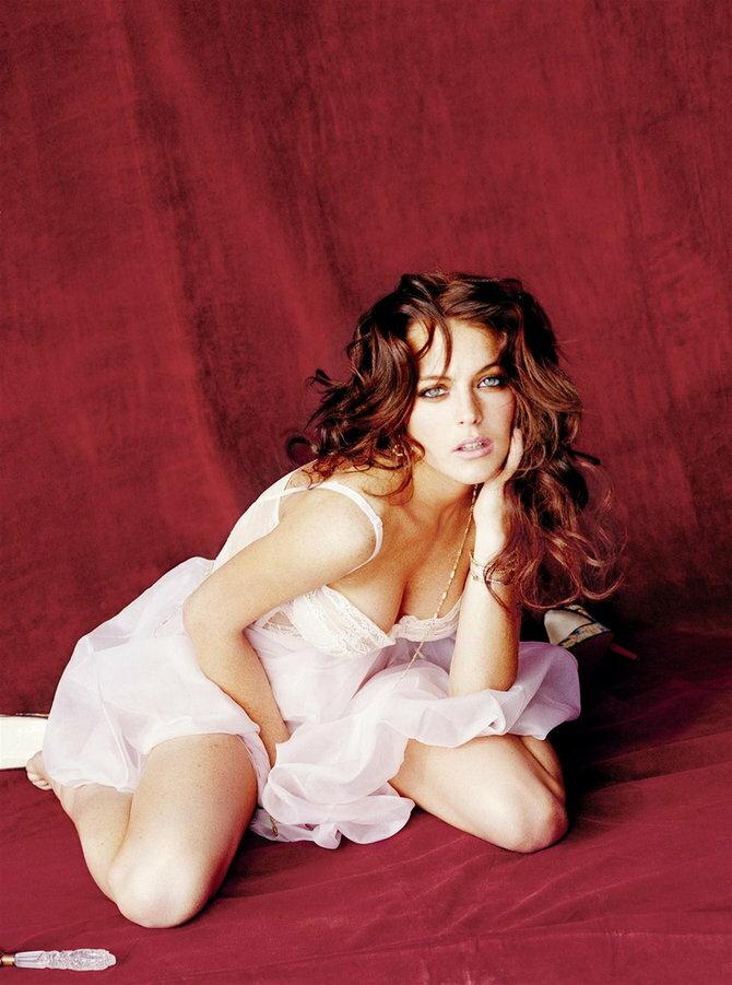 Lindsay Lohan by Ellen Von Unwerth