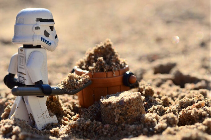 A true work for a Sandtrooper