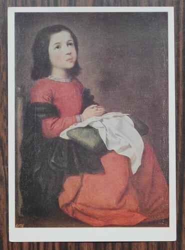 Отрочество Мадонны. Ок. 1660 г.