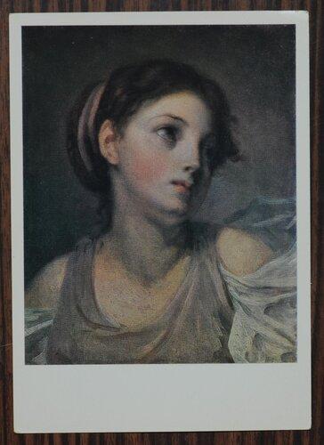 Голова Девушки в сиреневой тунике. 1770-е гг.