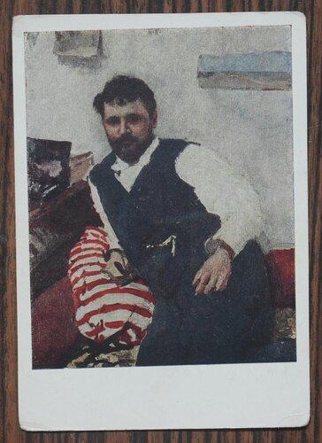 Портрет художника К.А.Коровина (1861-1939) 1891 г.