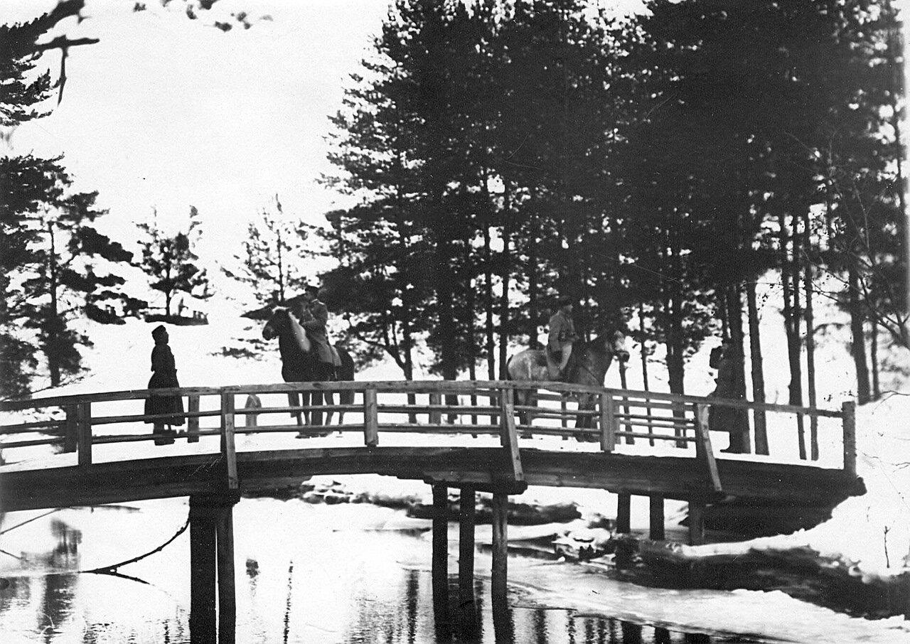 21. Пограничный пост бригады. 1908