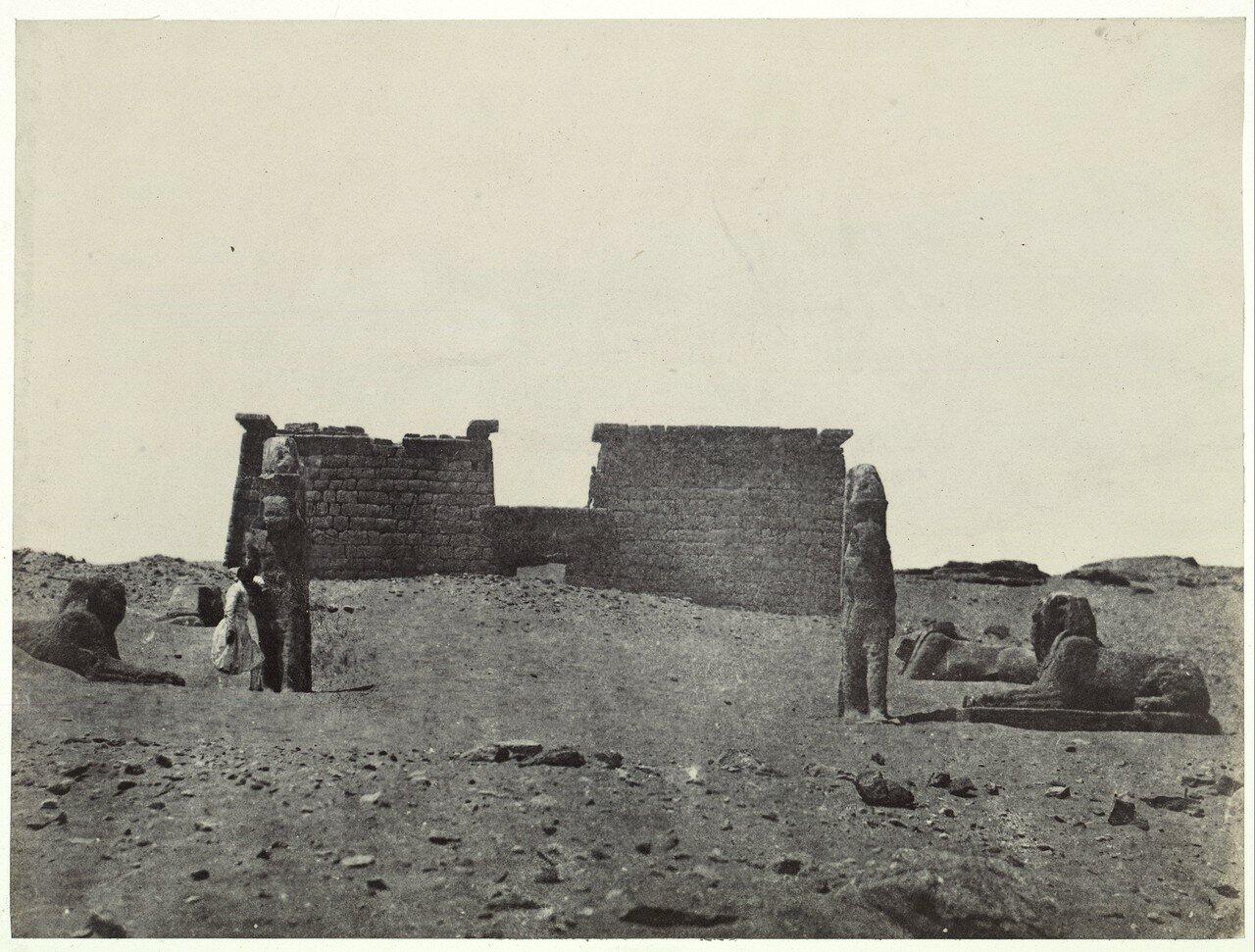 Храм Вади Эль Себуа, 1849
