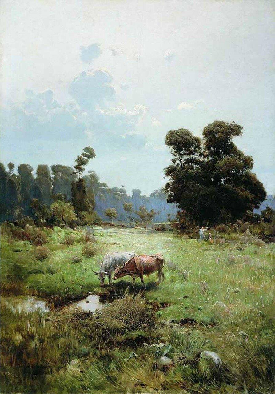 Казачья левада. 1893