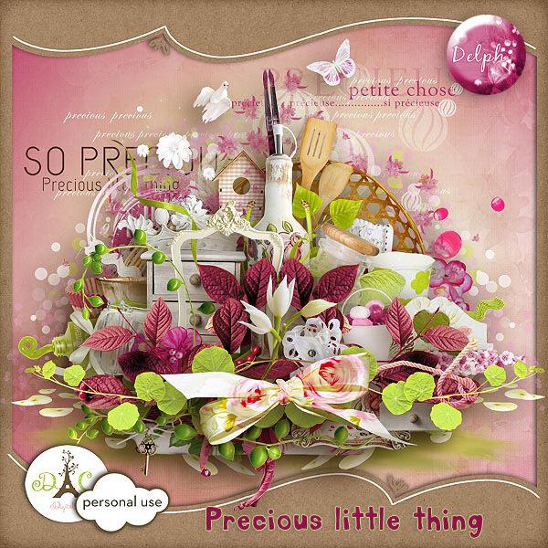 Скрап-набор Precious little things