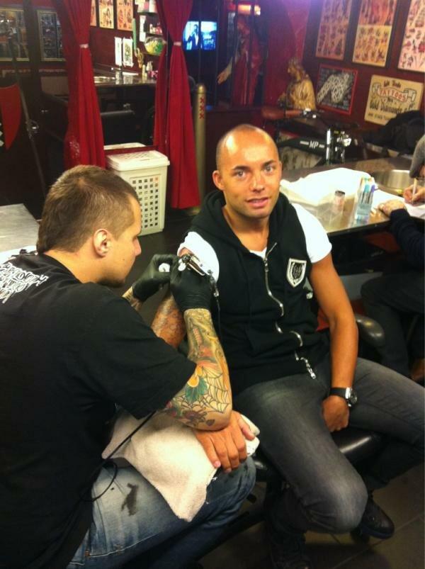 Деми де Зеув сделал новую татуировку (Фото)