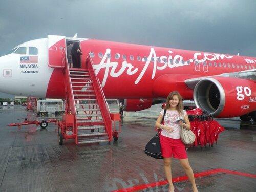 Самолет от Куала-Лумпур до острова Пенанг
