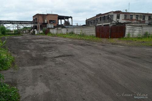 Фото города Инта №7889  Восточная сторона Мира 40а (восточный въезд с дороги на территорию бывшей квартальной котельной) 02.07.2015_15:56