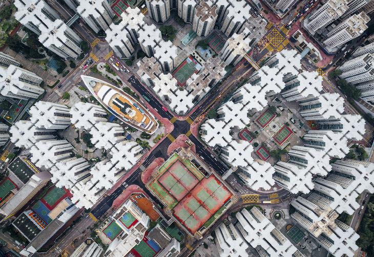 2. Закат на Манхэттене. (Фото Lars Sivars | National Geographic Travel Photographer of the Year Cont