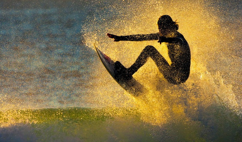Сумасшедший адреналиновый прилив;)) Сёрфинг;)) Фото для летнего настроения (21 фото)