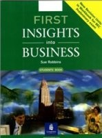 Аудиокнига First insights into business (student's book, work book, audio)