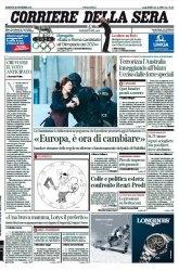 Журнал Il Corriere della Sera  (16 dicembre 2014)