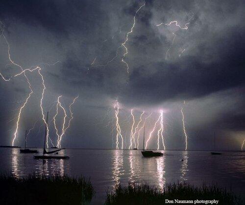 Фотографии молний