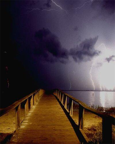 Красивые фотографии молний