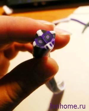 Украшения из полимерной глины. Техника «Калейдоскоп»