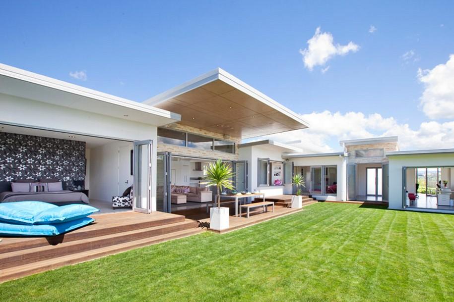 Уютный The Lakes House в Новой Зеландии