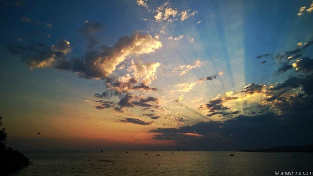 Закат, Геленджик, Черное море