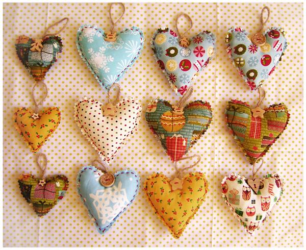 Как сшить сердечки из ткани своими руками