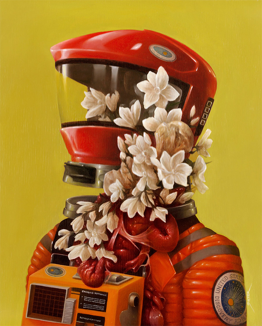 Pop Culture Oil Paintings by Bennett Slater (14 pics)