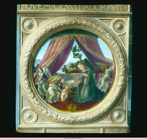 Milan. Biblioteca Ambrosiana: Botticelli's