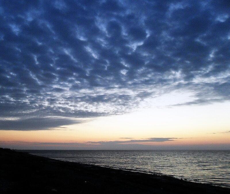 Декабрь 2011, побережье Азовского моря, закат