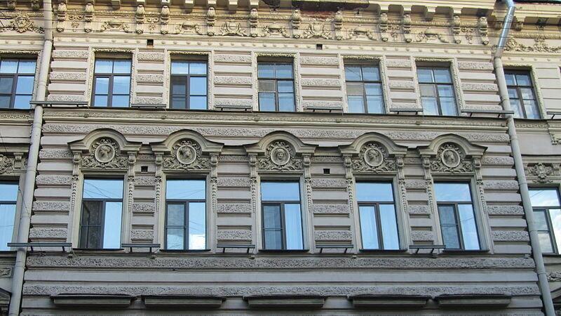 800px-Пушкин2_(6).JPG.Дом Каллио К. Е. Санкт-Петербург, Пушкинская улица, 2.JPG