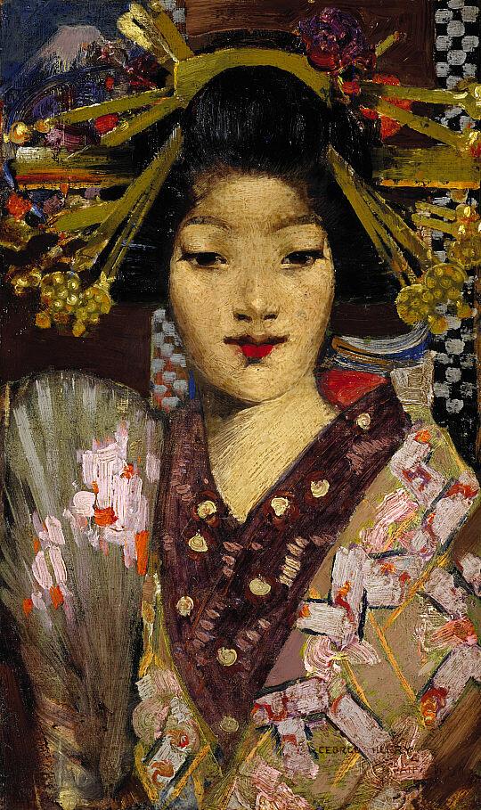 George Henry  Geisha Girl 1894