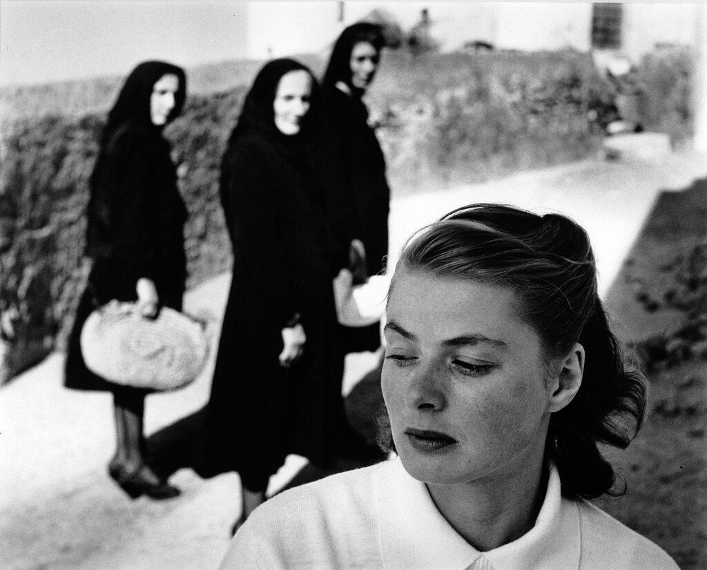 Ingrid Bergman at Stromboli 1949
