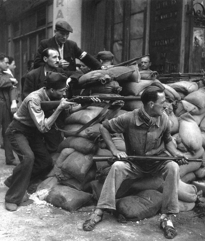 Paris, 1940-50, by Robert Doisneau