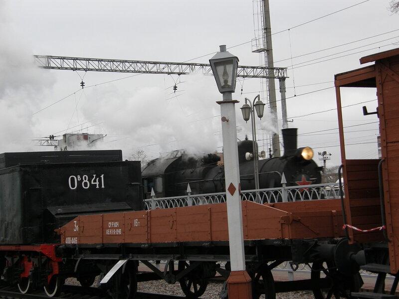 Музей железнодорожной техники на Рижской