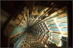В шахте лифта атомиума